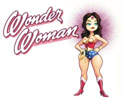 Lynda Carter RULEZ by kiwine
