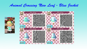 Animal Crossing New Leaf - Blue Jacket by TofaTheDragonRider