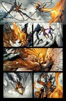 Ghost Rider:Mercy.Page18.Color by raultrevino