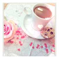 -. Coffee Time .- by DivaAuriLa