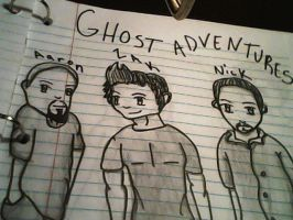 Ghost Adventure Crew by TheyCallMeDanger
