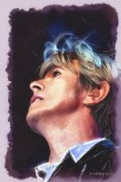 David Bowie - Digital  Watercolour by paulnery