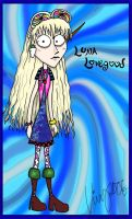 Tim Burtoney Luna Lovegood by Shmivv