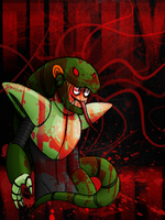 Them bloody little snakes by Chloemew4ever