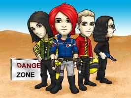 MCR Killjoys by kelly42fox