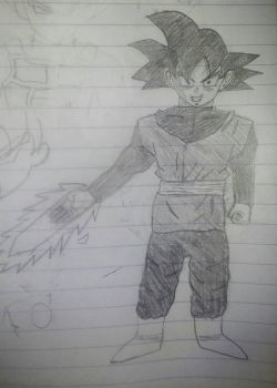 Base Goku Black by primeomega97