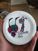 Invader Zim chip dip part 2 by FursonaKittenMittens