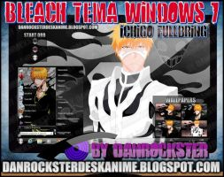 Ichigo Fullbring Theme Windows 7 by Danrockster