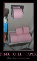 Pink Toilet Paper by Pokemon-Chick-1