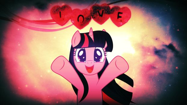 Wallpaper Twilight love you all by Barrfind