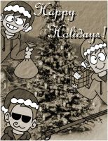 Eddsworld Christmas Card - Bigger Version by SuperSmash3DS