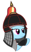 Rainbow Dash as Soldier of Hui by HankOfficer