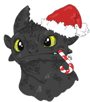A Toothless Christmas by White-Sight