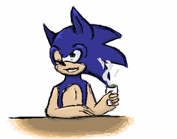 iScribble: Sonic by neokasey82