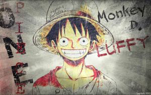 Eroded Luffy Wallpaper by fogdark