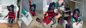 Marceline Plush by fluffyducky-plushie
