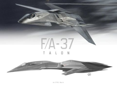 F/A-37 TALON by fighterman35