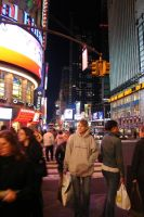 Times Square by philichino
