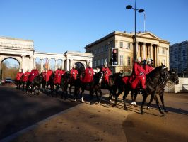 Household Cavalry 2 by ggeudraco