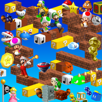 Super Mario 3D World Artwork by YoshiGo99