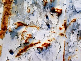 Old Flaking Paint Texture 1 by Bound-By-Leather