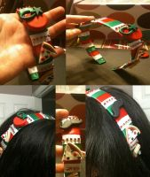 Romano Themed Headband by Arinayed
