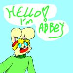 Abbey the hybrid bunny by Victor-artist