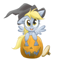 Derp-O'-Lantern by steffy-beff
