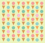 Ice cream Pattern by letterbyowl