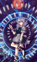 Sakuya Spell card by Night-mist