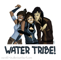 Water Tribe by caroll-in
