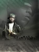 Talib Kweli Large Piece by N4S-GFX