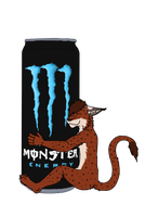 Monster Energy drink by LeoOfTheDeaD