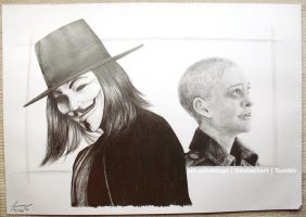 V for Vendetta by xiii-wings