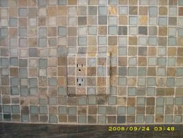 faux mosaic tile by MuralsbyLeBold