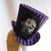 The Cat Lady Top Hat by RagDolliesMadhouse