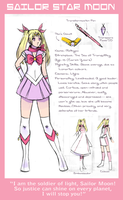 Profile: Sailor Star Moon by crystalAlluvion
