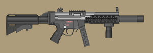 Custom MP5 by PatTheGunartist