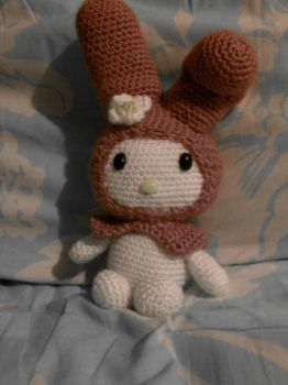 My Melody Crochet by brightdarkness7