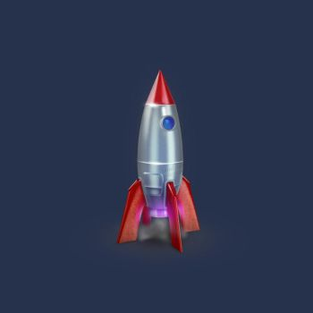 Rocket icon by AndexDesign