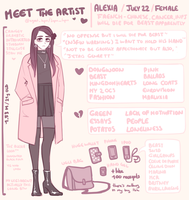 MEET THE ARTIST by agent-lapin