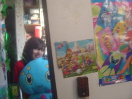 Manaphy and I, Mirror image. by PokemonMaster04