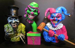 icp insane clown posse statues by mycsculptures