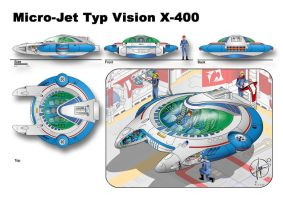 Micro-Jet Typ Vision X-400 by Paul-Muad-Dib