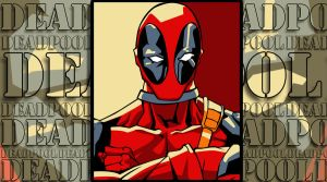 Deadpool Pop Art Wallpaper 3 by iamherecozidraw