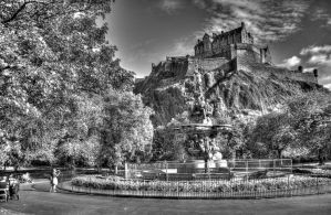 Edinburgh Castle by FunkyBah