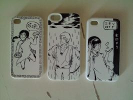 Hetalia for iphone (cover) by MojiKung