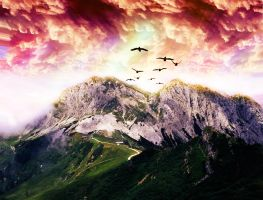Mountain of Happiness by LichBloid