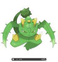 Fakemon: 023 Auturf by zephleit