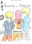 KUSHINA MEETS NARUTO COVER by iheartroxaskun